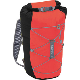 Exped Cloudburst 25 Backpack Unisex black-red